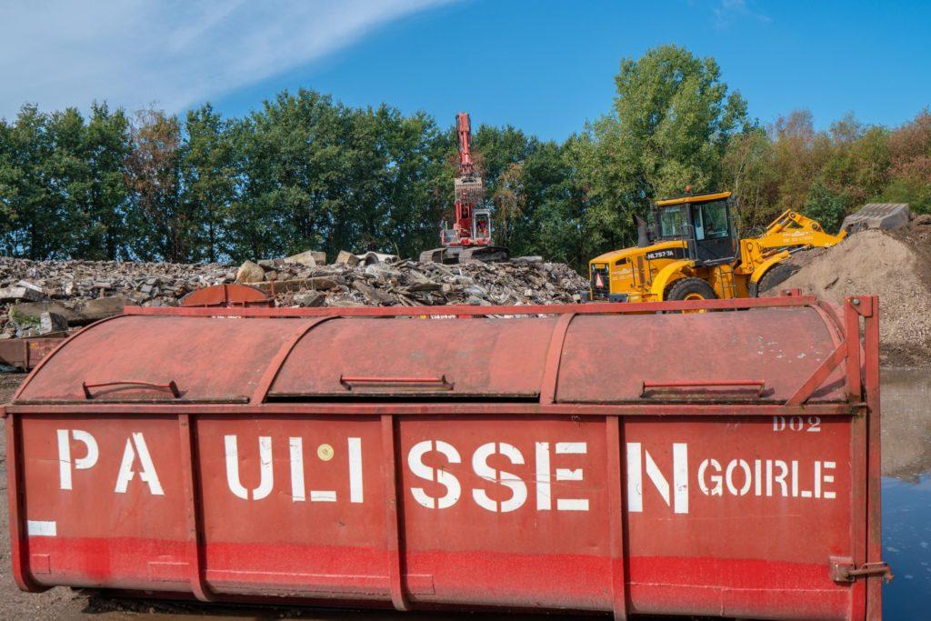 Recycling puin- en bouwafval